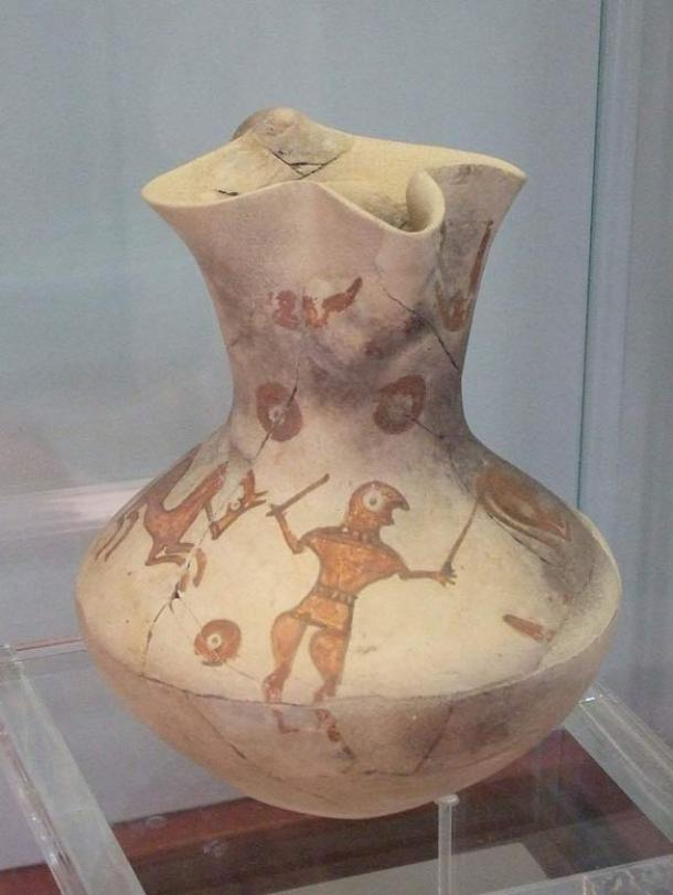 A pitcher from ancient Numancia.