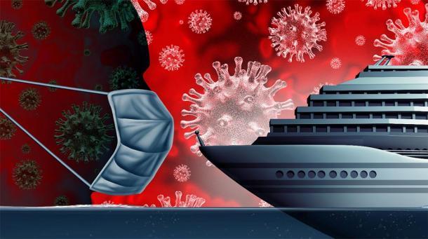 Coronavirus plagues cruise ships. Credit: freshidea / Adobe Stock