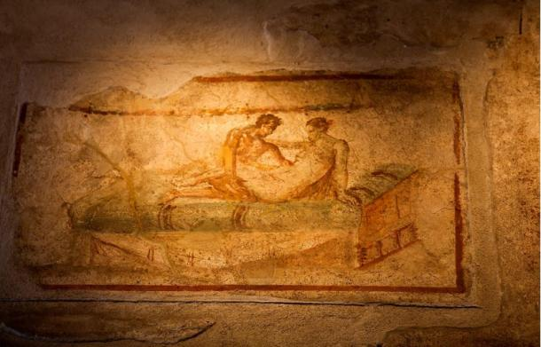 The raunchy frescoes of Pompeii are the reason the city lay buried for two centuries after its initial discovery.