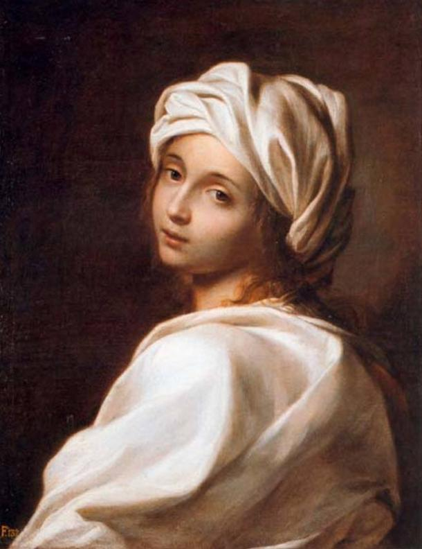 A portrait of Beatrice Cenci attributed to Guido Reni.
