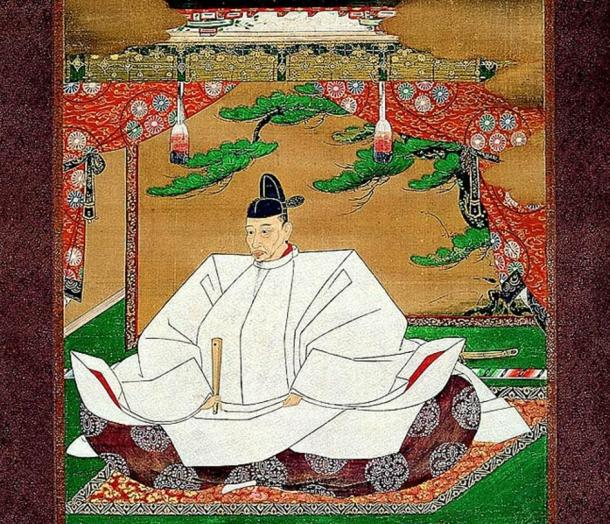 A portrait of Toyotomi Hideyoshi