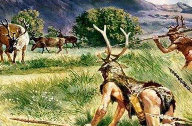 Artist's impression of prehistoric hunters. ( We Have Concerns)