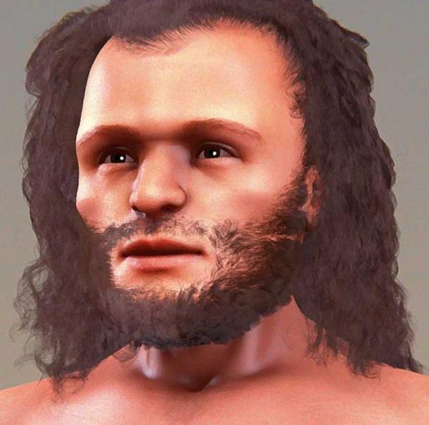A previous facial reconstruction of Cro-Magnon 1. (Cicero Moraes/CC BY SA 4.0)