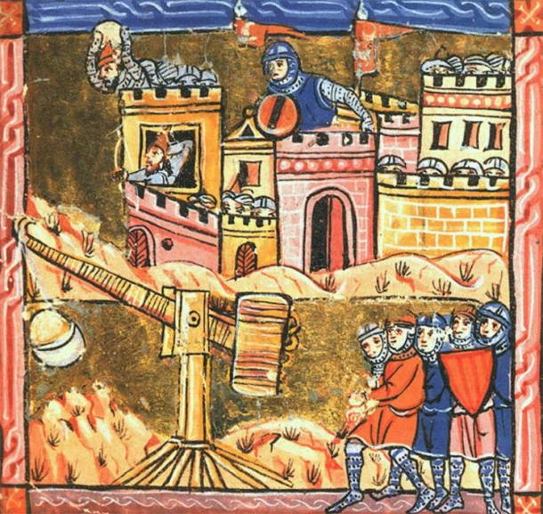 The archaeologist examined primary sources and discovered that Richard the Lionheart and his army made their way down the coast from Arce. In the image Saladin's armies can be seen during the Siege of Arce. (Public domain)