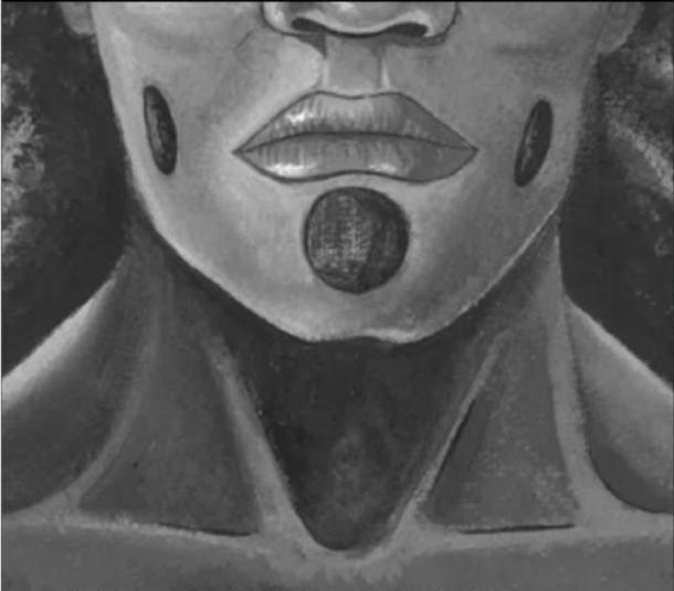 The proposed facial piercings. (Lou-Octavia Mørch)