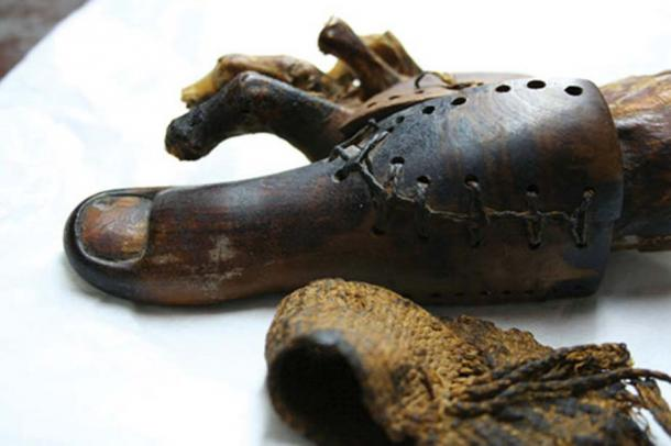 The prosthetic toe in the Cairo Museum.
