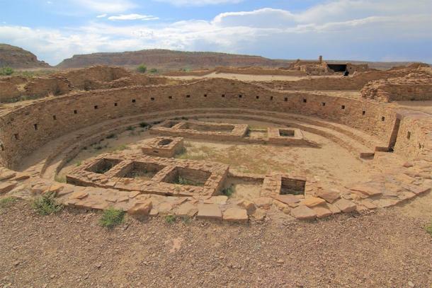 Pueblo Bonito ruins in Chaco Caynon, New Mexico, USA. (eickys / Adobe stock)