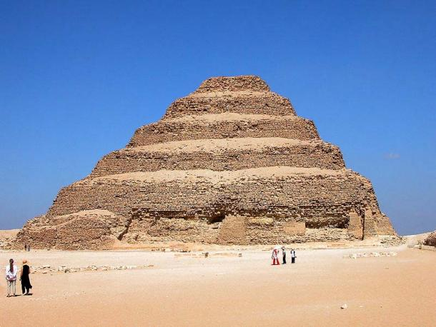 The Step Pyramid of Djoser today. (Dennis Jarvis / CC BY-SA 2.0)