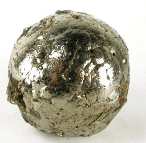 A very rare, very fine pyrite ball, from Peru.