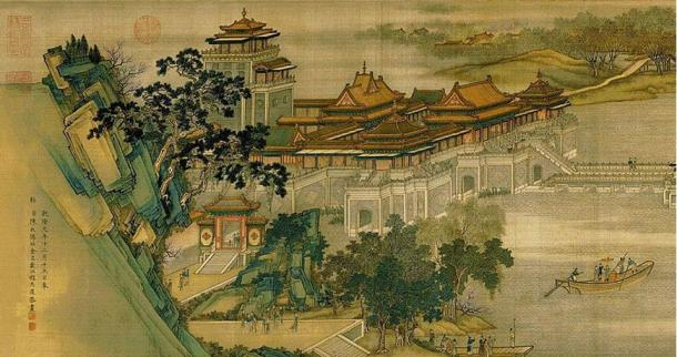 Details from 'Along the River During the Qingming Festival