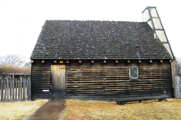 A reconstructed early colonial home at the St. Mary's City historical site in Maryland, USA. (Sarah Stierch / CC BY 2.0)