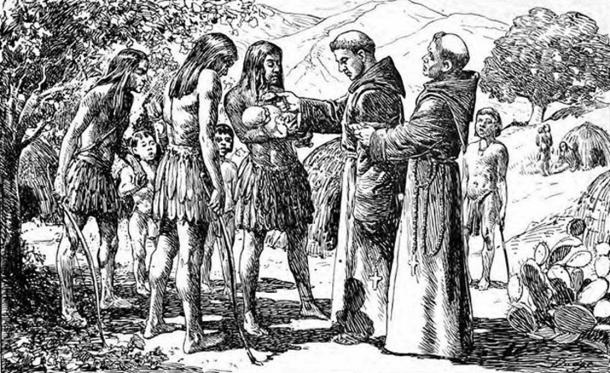 The first recorded baptism in Alta California. Taken from p. 285 of San Juan Capistrano Mission by Engelhardt, Zephyrin (1922).