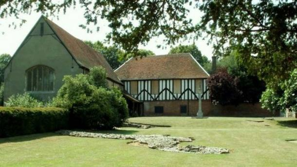 The remains of the Cluniac Priory of St Mary's date from the 13th Century and now house the museum