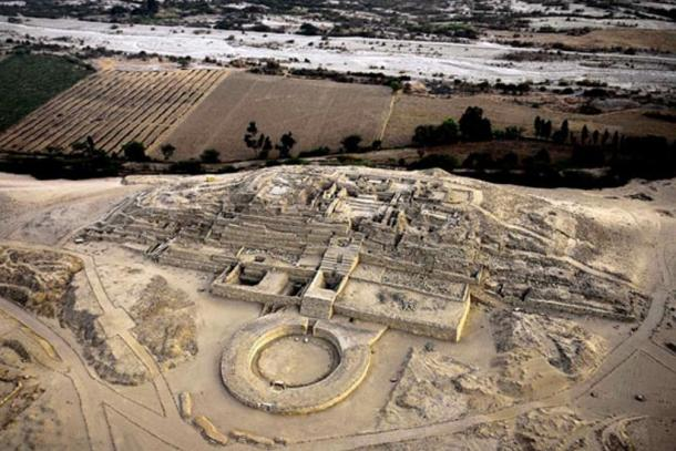 The remains of the Sacred City of Caral, Peru.