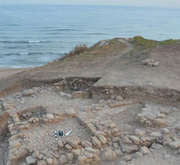 The remains of a house found at Tell el-Burak, Lebanon. (Credit: Tell el-Burak Archaeological Project/Antiquity)