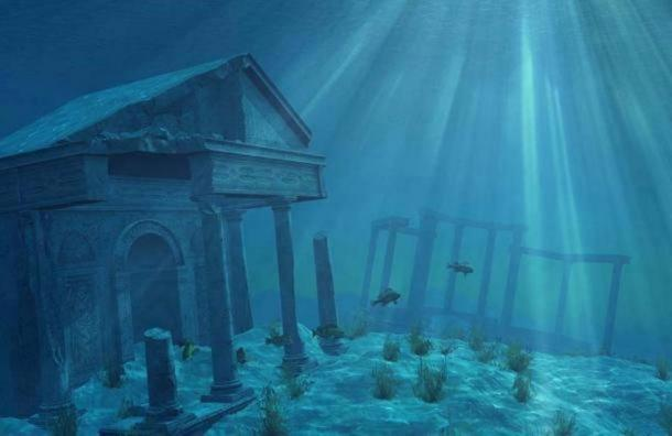Artist's representation of Atlantis.