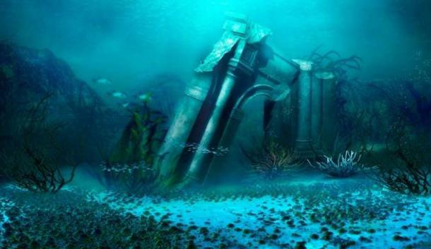 A representation of Atlantis