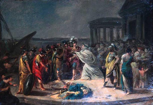 The return of Idomeneus