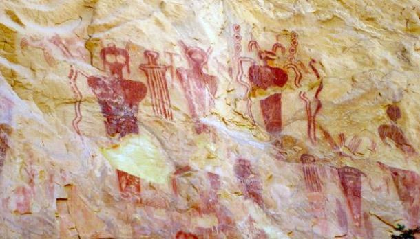 El arte rupestre inquietante de Sego Canyon