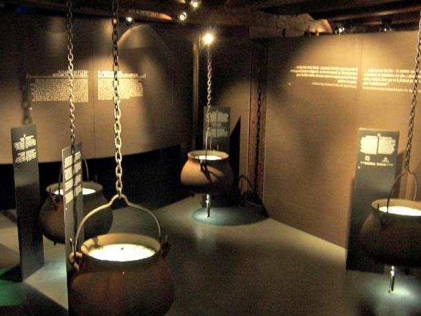 One of the rooms at the Witch Museum in Zugarramurdi