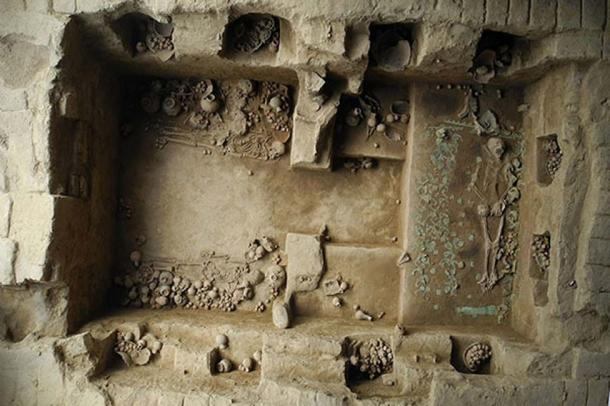 This royal tomb, discovered in 2013. Courtesy of Luis Castillo