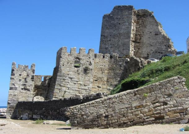 A ruin at the coast of Sinop