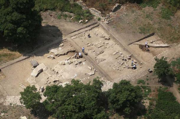 The ruins of Bathonea