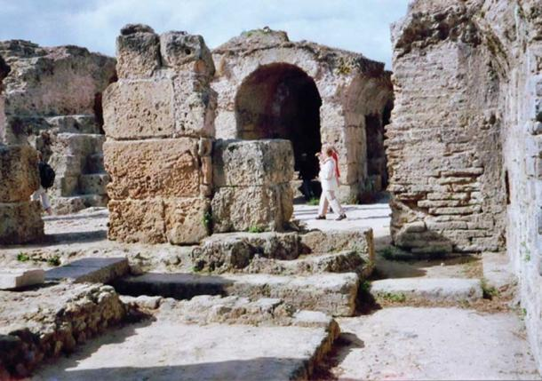 The ruins of Carthage.