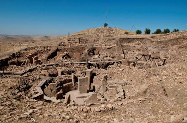 The ruins of Gobekli Tepe