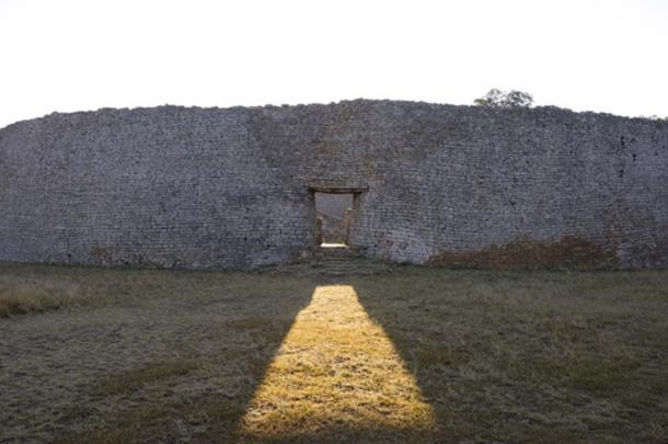 The ruins of Great Zimbabwe.