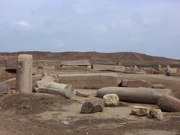 The ruins of Tanis.