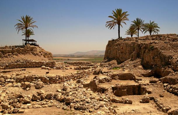 The ruins of Tel Megiddo