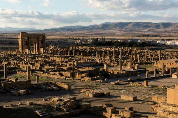 The ruins of Timgad. (Dan Sloan/CC BY SA 2.0)