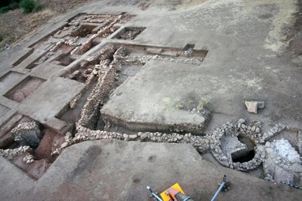 The ruins of the citadel of Mycenae have been under excavation for many years.