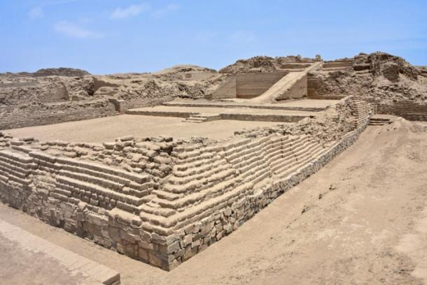 The ruins of Pachacamac, an ancient archaeological site on the Pacific coast just south of Lima, Peru. (Mark / Adobe stock)