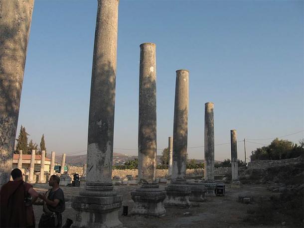 The ancient ruins of Samaria (Daniel Ventura / CC BY-SA 4.0)