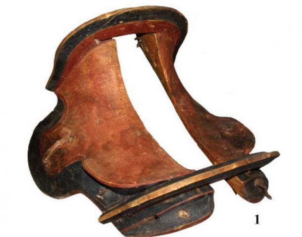 The saddle, which had wings, is described as perfectly preserved. (Nikolai Seregin / CC BY-SA 4.0)