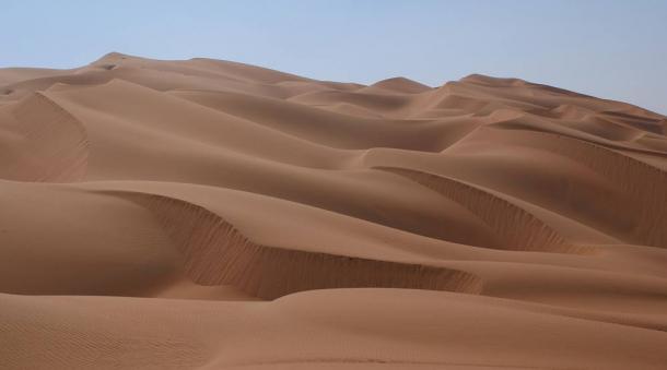 Rub' al Khali or Empty Quarter is the largest sand desert on earth.