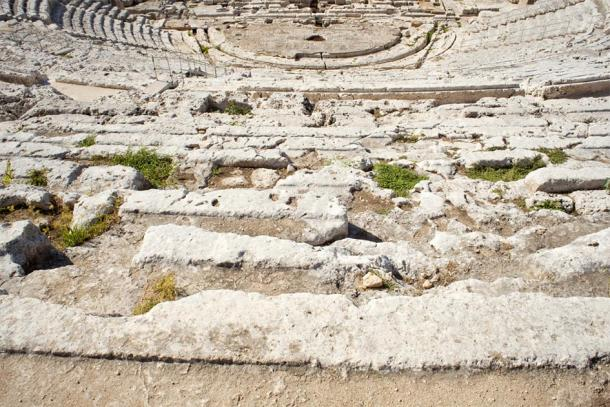 The scale of the vast seating at the Greek Theatre (bepsphoto / Adobe Stock)