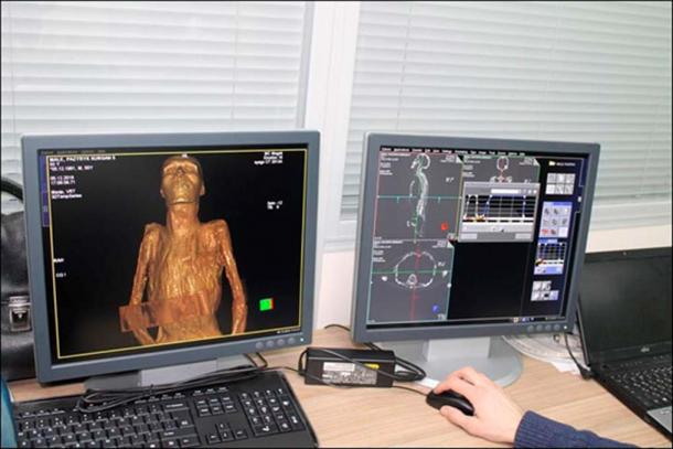 s scan is the first of its kind for the world-famous Hermitage.