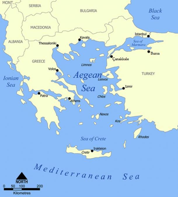 a description of the archeological sites in the aegean sea Here are just some of the stories in israeli archaeology in 2016  an underwater  survey off tel dor, on the mediterranean sea, yielded a rare  a closeup of the  places in the stone stepped road in the old city of jerusalem.