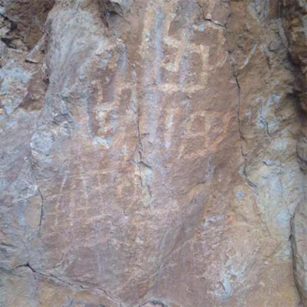 The other section of Lipci primitive rock paintings shows ancient swastika symbols, which were iconic sun symbols of prehistoric humans. But other scholars argue these are crude maps of the Bay of Kotor. (Kotor Municipality: Pictures / TripAdvisor)