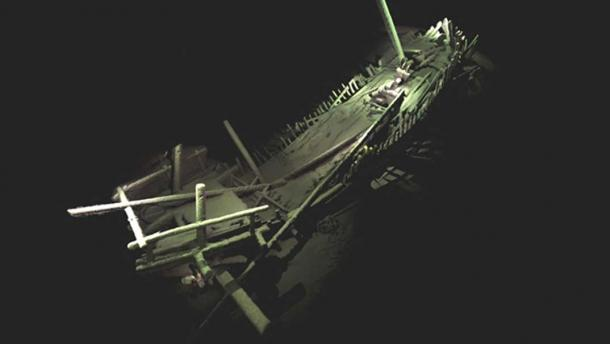A shipwreck from the medieval period of a type we know from history and a few fragmentary archaeological finds but never before seen so complete - photogrammetric model constructed from 4,500 high resolution photographs taken by cameras on the ROV.