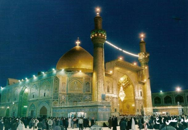 The shrine of Imam Ali ibn Abi Talib