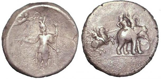 Alexander the Great silver victory coin c.322 BC.