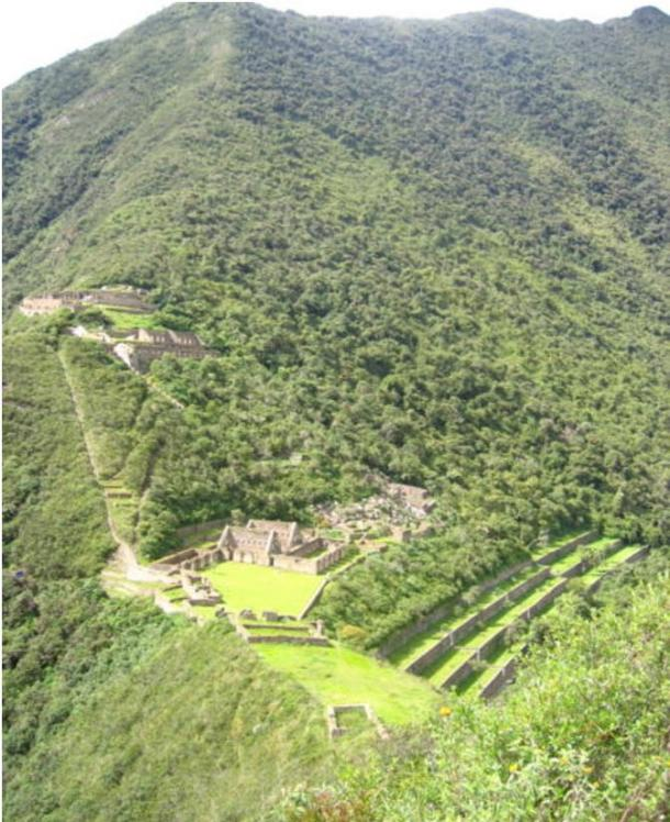 The spectacular site of Choquequirao