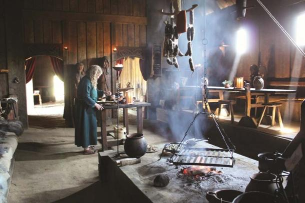 At the Viking site of Ribe, visitors can take part in Viking activities which were part of daily life during the Viking Age, including metalworking and Viking alchemists. (Ribe Vikinge Center)