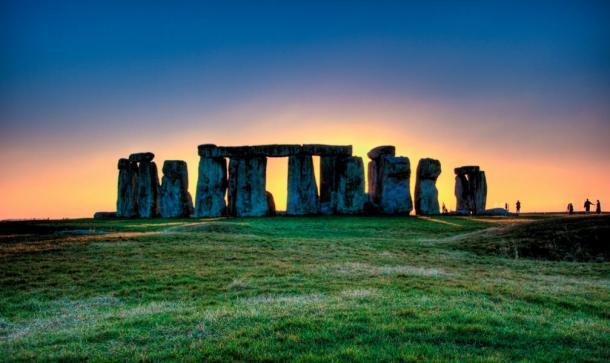 The world-famous site of Stonehenge, Wiltshire