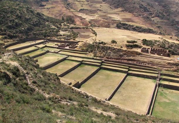 The spectacular site of Tipón, Peru