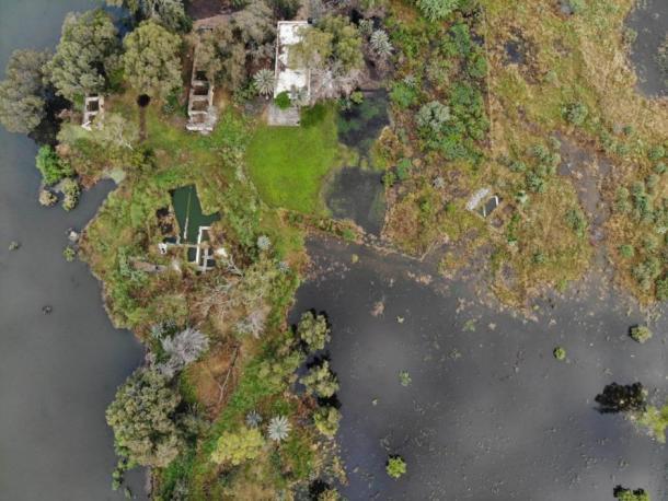 The site is currently under water. (Nir-Shlomo Zelinger)